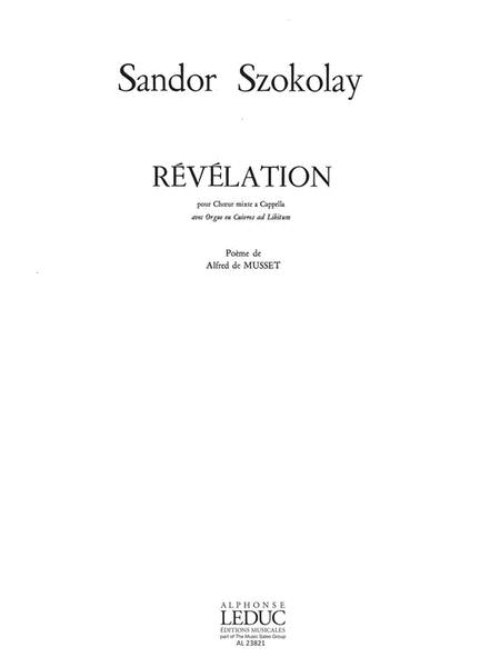 Revelation (choral-mixed Accompanied)
