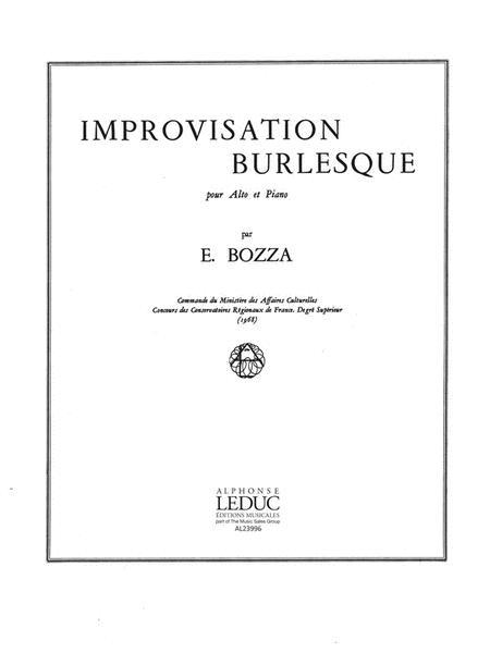 Improvisation Burlesque (viola & Piano)