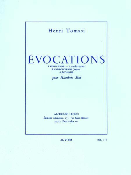 Evocations (oboe Solo)