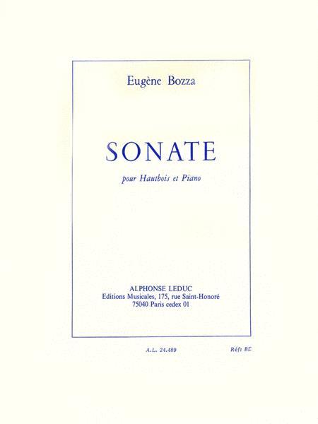 Sonate (oboe & Piano)