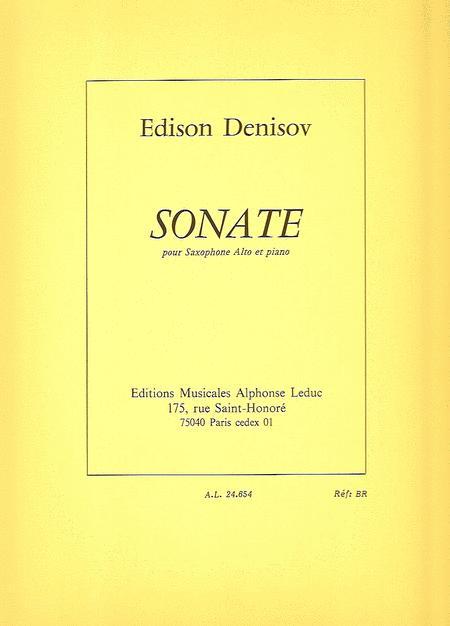 Edison Denisov - Sonate Pour Saxophone Alto Et Piano