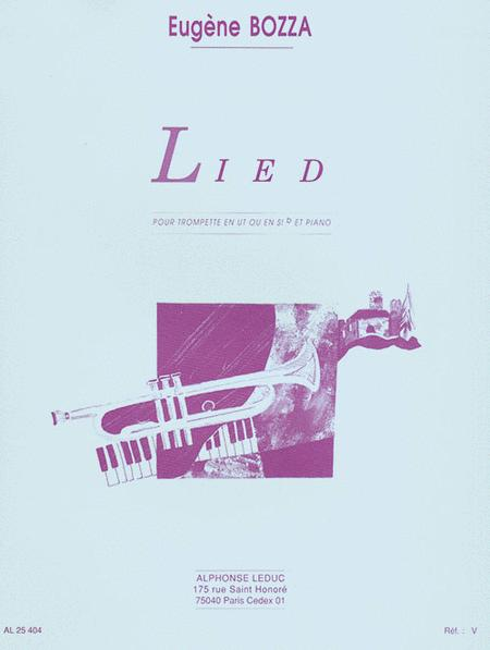 Lied (trumpet/piano)