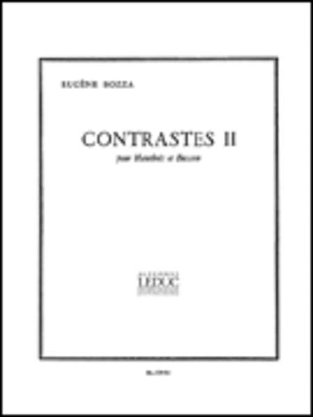 Contrastes II (Oboe & Bassoon)