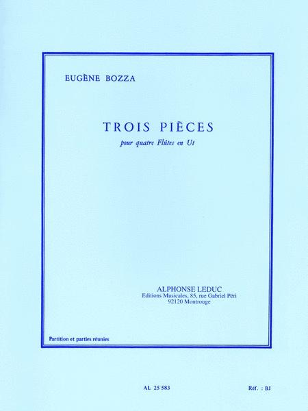 Three Pieces For Four Flutes (4 Flutes)