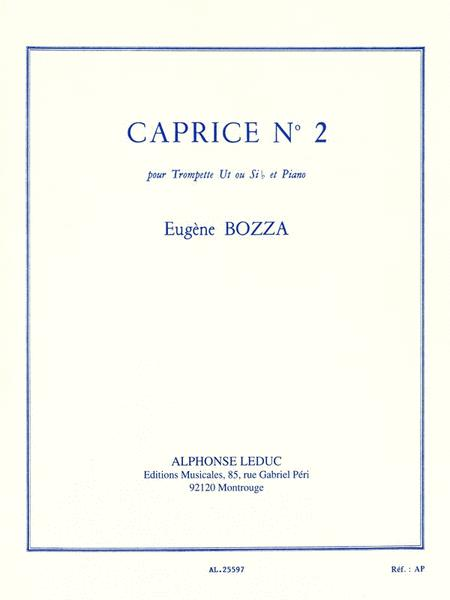Caprice No. 2 For Trumpet And Piano