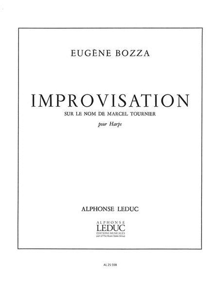 Improvisation Sur Le Nom De Marcel Tournier (harp Solo)