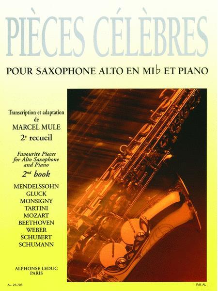 Pieces Celebres Vol.2 (saxophone-alto & Piano)