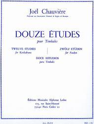 12 Etudes (percussion Solo)