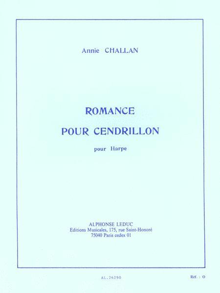 Romance Pour Cendrillon (harp Solo)