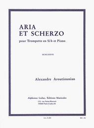 Alexandre Aroutiounian - Aria Et Scherzo Pour Trompette En Si Bemol Et Piano
