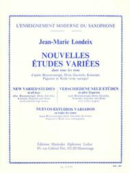 Jean-marie Londeix - Nouvelles Etudes Variees, Pour Saxophone