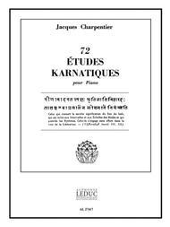 72 Etudes Karnatiques - 9e Cycle (piano Solo)