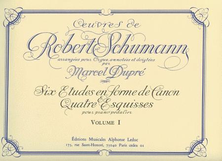 Organ And Pedal-piano Works Volume 1 (organ)