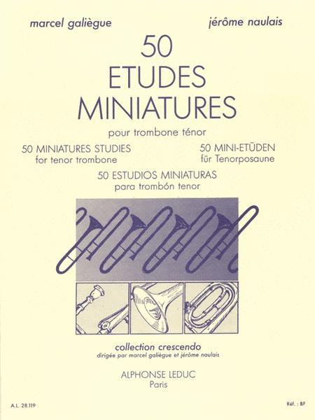 50 Miniature Studies For Tenor Trombone