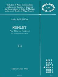 Menuet (flute & Piano)