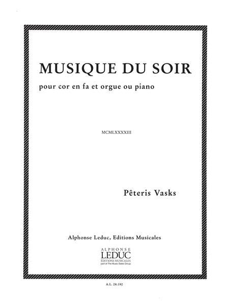 Musique Du Soir (horn & Organ)