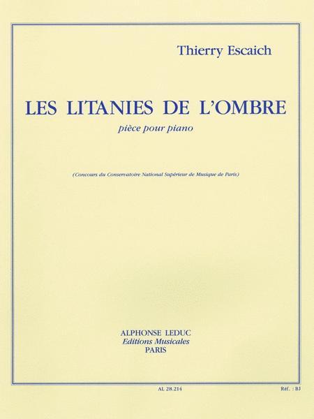 Les Litanies De L'ombre (piano Solo)