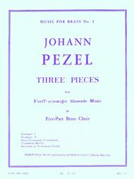 3 Pieces (quintet-brass)