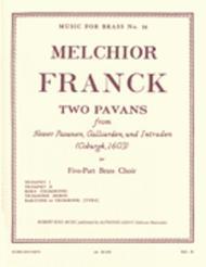 2 Pavans (quintet-brass)