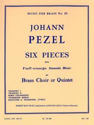 6 Pieces (quintet-brass)