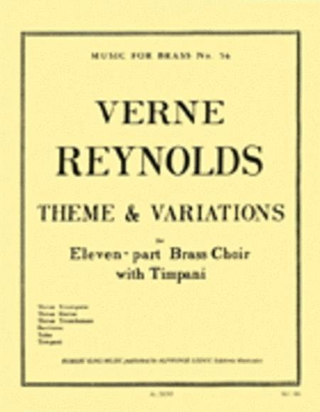 Theme & Variations (ensemble-brass 8 Or More)
