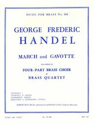 March And Gavotte (brass Quartet)