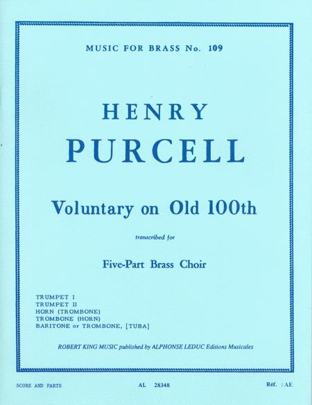 Voluntary On 'old 100th' (quintet-brass)