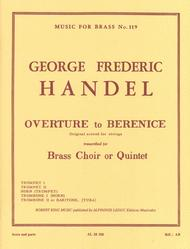 Overture From 'berenice' (quintet-brass)