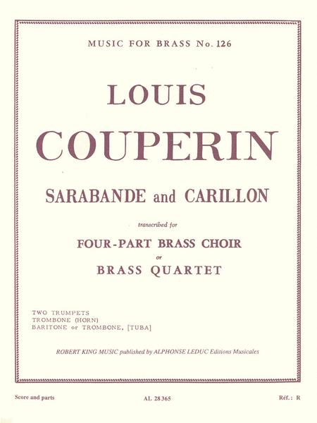 Sarabande & Carillon (quartet-brass)
