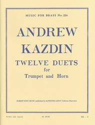 Twelve Duets For Horn And Trumpet