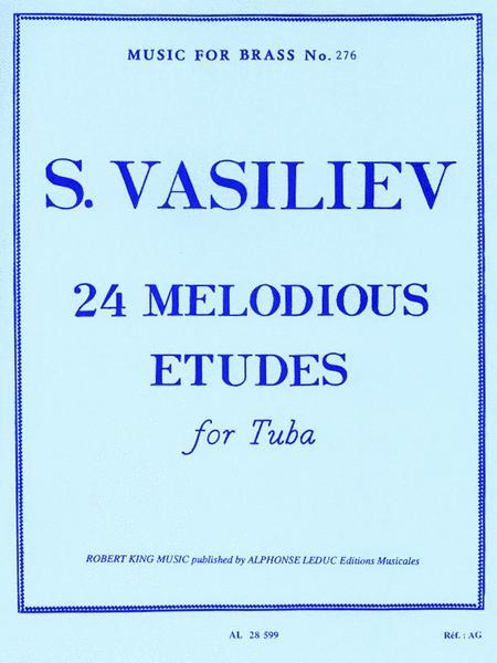 24 Melodious Etudes (tuba)