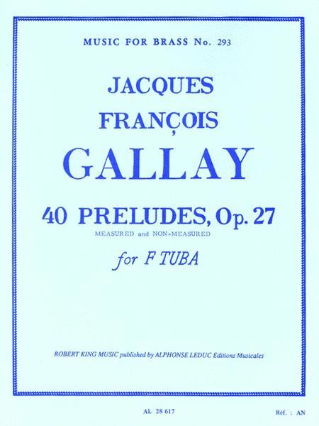 40 Preludes Op.27 (tuba Solo)