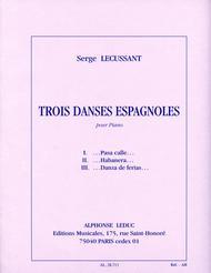 3 Danses Espagnoles (piano Solo)