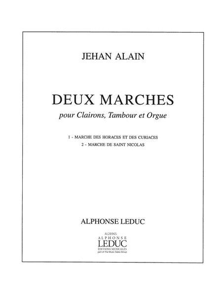 2 Marches (quartet-mixed)