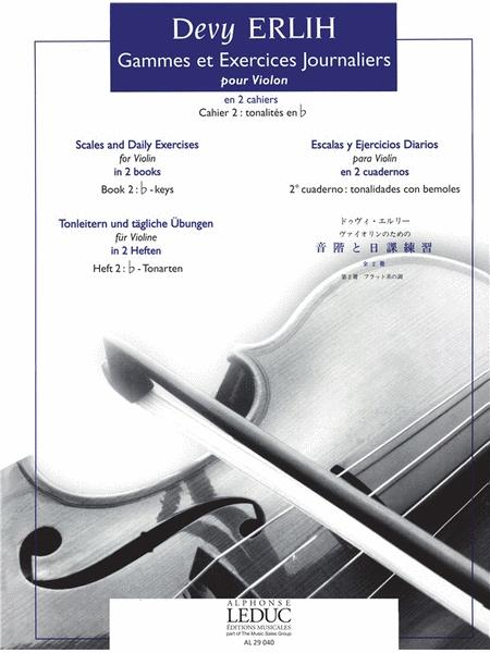 Scales And Daily Exercises For Violin Book 2 (violin Solo)