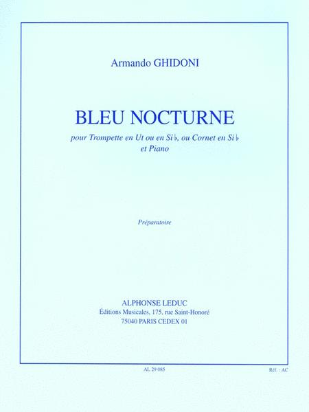 Bleu Nocturne (trumpet & Piano)