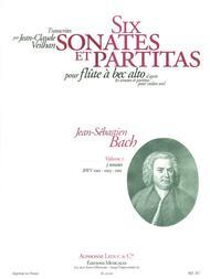Violin Sonatas & Partitas Arr. For Treble Recorder Solo - Volume 1