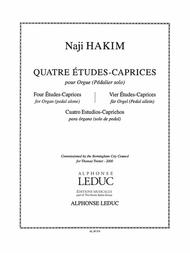 4 Etudes-caprices (organ)