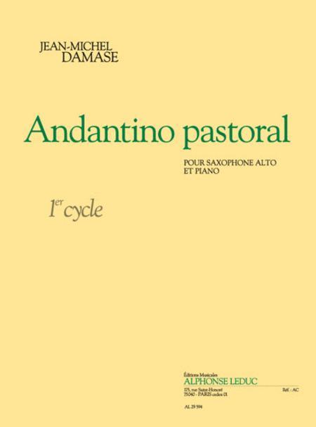 Andantino Pastoral (cycle 1) Pour Saxophone Alto Et Piano
