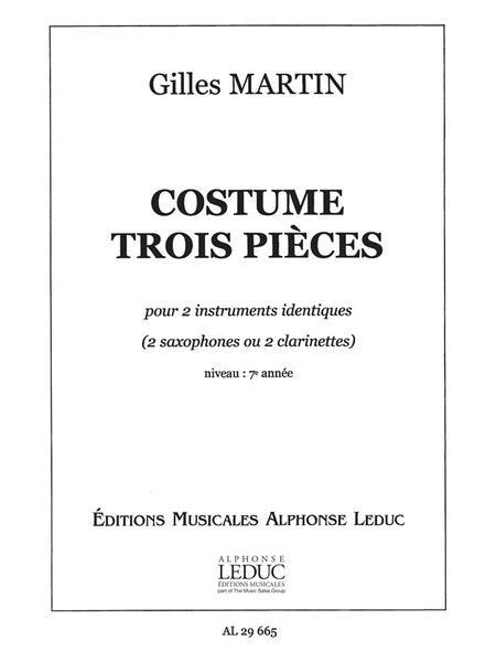 Costume (saxophones 2)