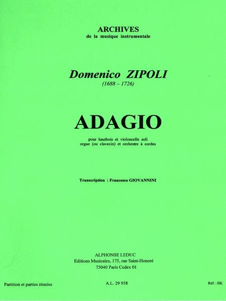 Adagio, For Oboe And Cello, With Organ Or Harpsichord And String Orch