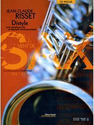 Risset Jean Claude Distyle (georgel) Alto Saxophone Book/cd Al30394
