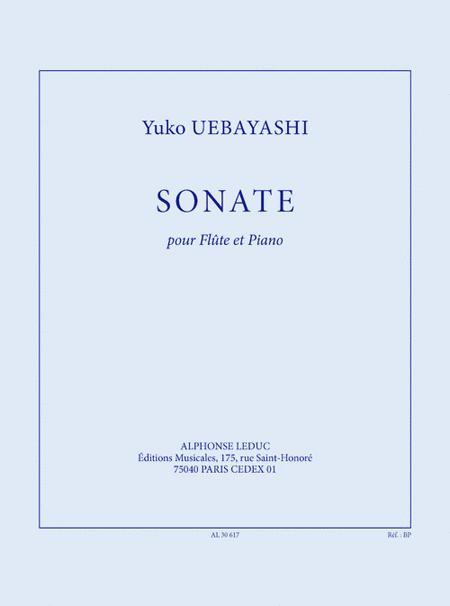 Sonate (26') Pour Flute Et Piano