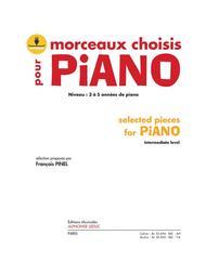 Morceaux Choisis Pour Piano (book/download Card Al30695)