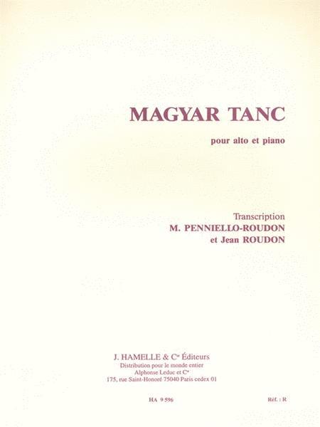 Magyar Tanc (viola & Piano)