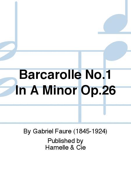 Barcarolle N01 Op26