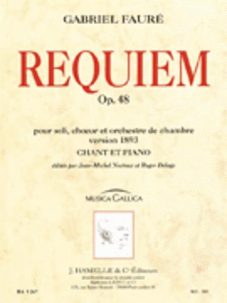 Gabriel Faure - Requiem Pour Soli, Ch'ur Et Orchestre De Chambre Op. 48 (version De 18
