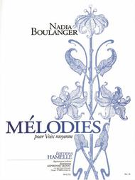 Melodies Recueil Pour Voix Moyenne