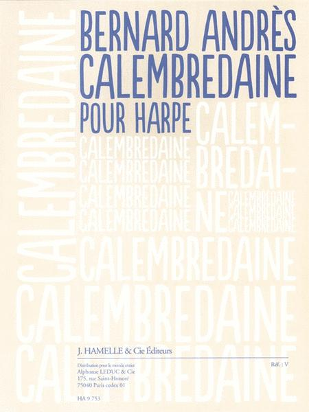 Calembredaine (2'30'') Pour Harpe
