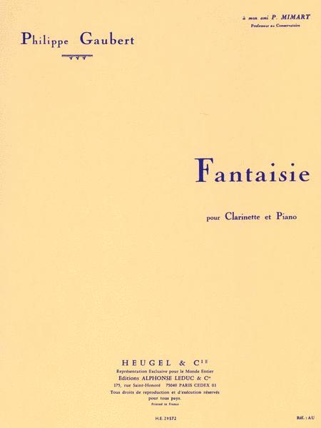 Fantasy for Clarinet and Piano